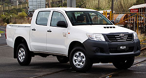 Toyota 2014 HiLux utilityLocal input: Toyota Australia engineers from the Melbourne-based Technical Centre will head the Asia Pacific region's chassis tuning on the next-gen HiLux.