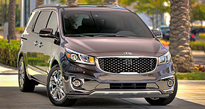 Kia 2015 Carnival Style central: Kia's new Carnival has been given a premium look and feel, inside and out.
