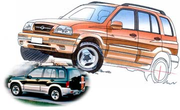 1998 Suzuki Grand Vitara V6 wagon Car Review