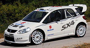 Suzuki  Rally fever: Suzuki's awesome new SX4 WRCar.