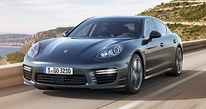 Tokyo 2013 Fast money: Porsche's most powerful sedan to-date, the Panamera Turbo S, was unveiled at Tokyo amongst exotic offerings from around the world.