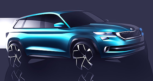 Skoda 2017 VisionS Vision quest: Although it is a design study, the Skoda VisionS will surface as a production model soon.