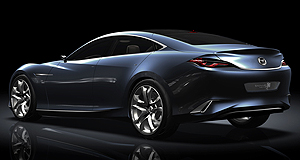 Mazda 2012 Mazda6 Sleek: New five-door Shinari sports concept heralds Mazda's new styling direction.