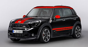 Mini 2012 Countryman John Cooper WorksOn the way: Mini has given the Countryman crossover the John Cooper Works treatment.