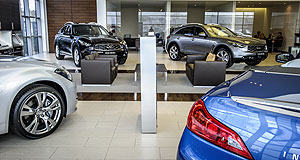 Infiniti  Boutique: Infiniti intends to achieve the same unique customer experience through its Australian dealerships as achieved in other markets like the UK (pictured).