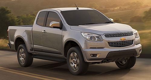 Holden 2012 Colorado ute rangeLion fighter: The next-generation Holden Colorado will join the growing light commercial vehicle market in Australia in around March 2012.