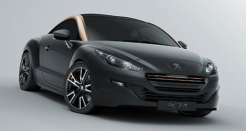 Peugeot 2013 RCZ Family values: Peugeot has dropped the wide mouth look and applied its latest corporate face to the refreshed RCZ coupe.