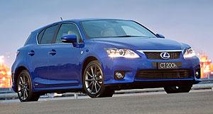 Lexus 2014 CT Shape up: The Lexus CT200h will be given a shake up to counter newer rivals next year.