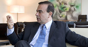 Holden  Ambitious: Carlos Ghosn says he doesn't want the top job at GM.