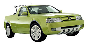 Toyota 2003 X-Runner Aussie package: A utility body was judged to be the best way to showcase Australian design.