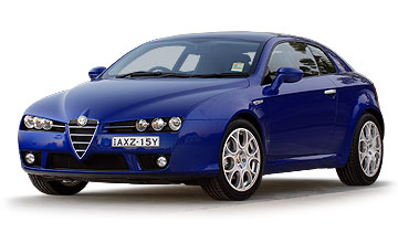 2006 Alfa Romeo Brera coupe range Car Review