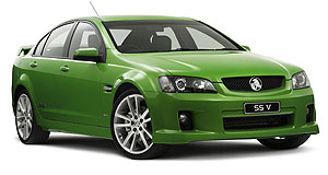Holden Commodore 60th Anniversary editionGreen, not mean: Special edition SS V rides on 20-inch alloys and comes with plenty more extra equipment.