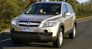 Holden Captiva diesel 5-dr wagon rangeItalian by design: Captiva's diesel engine was co-developed by VM Motori.