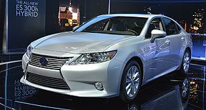 Lexus 2013 ES Still in the wings: The new-generation Lexus ES could arrive in Australia by the end of next year.