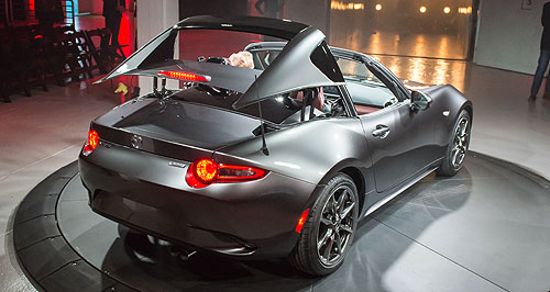 Mazda MX-5 RFForever young: The MX-5 RF should continue to attract younger buyers and people that had not considered an open-top car, according to MX-5 project manager Nobuhiro Yamamoto.