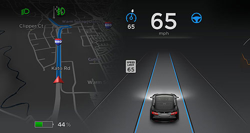 Tesla  Pause for effect: Tesla is taking part in the 2016 Pause Fest where it is showing off its autonomous Autopilot system and allowing people to test drive the Model S.