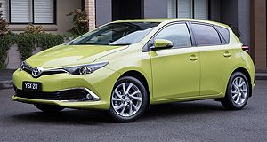 VFACTS Sales 2015 Top notch: Toyota's Corolla was Australia's favourite car in 2015, giving it a hat-trick of sales wins.