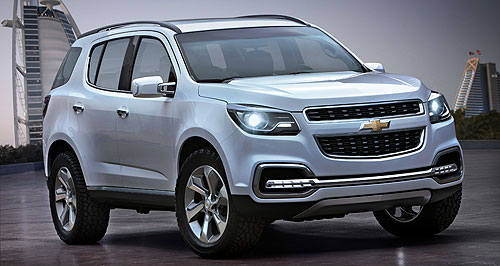 Holden 2013 Colorado 7 Lion-badged SUV: The rugged seven-seat Holden Colorado 7 will take the fight up to the Toyota Prado from early 2013.