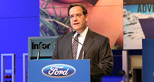 Ford  Greener pastures: Departing Ford Australia president Tom Gorman.