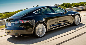 Tesla 2013 Model S Green with envy: Sleek looks, 0-100km/h in 4.4 seconds and a battery range of 483 kilometres have compelled 10,000 people to put money down for a Tesla Model S globally.
