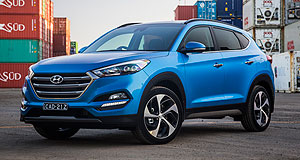 NZ sales  Strong month: The Hyundai Tucson was the top-selling model to rental car buyers last month and came in equal 10th with the Mazda CX-5 for overall monthly sales.