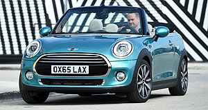 Mini Convertible Open for business: When it launches here mid-year, Mini's Convertible Cooper and Cooper S will take the hatchback recipe of zippy chassis and cheeky looks, but add a dose of wind-in-the-hair fun.