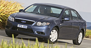 Ford  World-class: Bill Osborne said he decided to push exports again after driving the new FG Falcon for the first time.