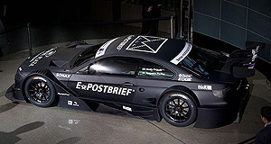 BMW  Mean machine: BMW reveals its M3 coupe DTM racer concept ahead of its return to the race series in 2012 after an 18-year absence.