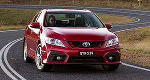 Toyota Aurion sedan rangeNew large: Toyota has released its second-generation Aurion large car in Australia.