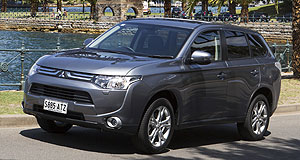 Mitsubishi Outlander Crucial model: The new Mitsubishi Outlander range will arrive in Australia in November with a $28,990 starting price.