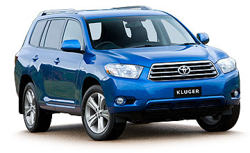 2007 Toyota Kluger KX-S 5-dr wagon Car Review