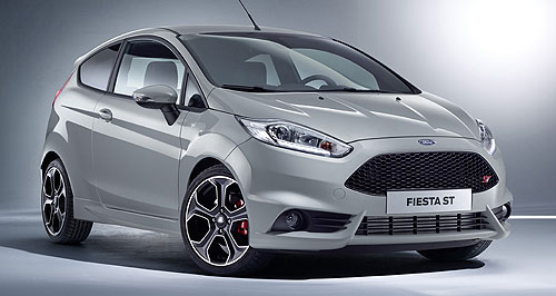 Ford 2016 Fiesta ST200Baby boomer: Ford's Fiesta ST has been tweaked for extra power, torque and an improved 0-100km/h sprint time.