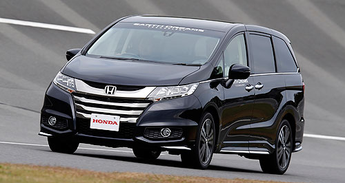 Honda  New arrivals: Named the Fit overseas, Honda's second-generation Jazz will form part of a quartet of new models to touch-down in 2014.