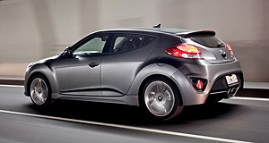 Hyundai Veloster Question mark: The current-generation Hyundai Veloster was the second-best selling sportscar under $80,000 in Australia last year, behind the Toyota 86.