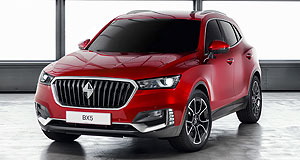 Borgward 2017 BX5 Blitz wagon: Borgward's BX5 SUV appears likely to be the next cab off the production rank for the Chinese-financed German company.