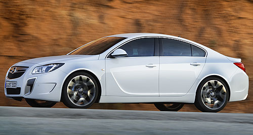 Opel 2012 Insignia OPC UnlimitedNo limits: The Opel Insignia OPC 'Unlimited' ditches the OPC's speed-limiter, making it the fastest ever car from GM's German arm.