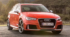 Audi  Power player: Audi had an order bank of 400 RS3 Sportbacks when the ballistic hatch launched in late-2015.