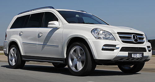 first drive more grunt for mercedes gl goauto. Black Bedroom Furniture Sets. Home Design Ideas