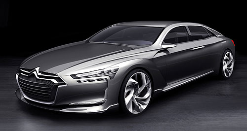 Citroen 2012 DS9 Grande auto: Citroen's Metropolis limo is expected to go into production as the DS9.
