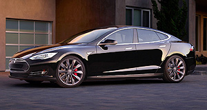 Tesla  Model citizen: The Tesla Model S is available in a number of configurations with varying battery sizes, but its most potent variant is the P90D, which can accelerate from zero to 100km/h in three seconds while still producing zero emissions.
