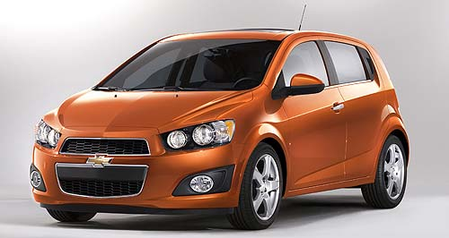 Holden 2012 Compact SUV Sonic: The 2012 Chevrolet Sonic may form the basis for a small Holden SUV.