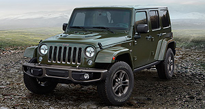 Jeep  On the up: Jeep is planning hybrid powertrains for its next-generation Wrangler as it increases its SUV production while at the same time pulling down CO2 emissions.