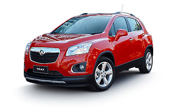 Holden Trax Details Car Page