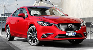 Mazda  Turbo boost: The Mazda6 is not a big seller in the United States but it could get a lift from a turbo-petrol or diesel engine down the track.