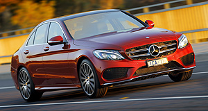 VFACTS Sales 2015 C this: Mercedes-Benz's C-Class outsold its major luxury medium car rivals combined in 2015.