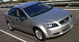 Holden Commodore OmegaFeat: Bigger, heavier and more powerful, but Omega still uses less fuel.