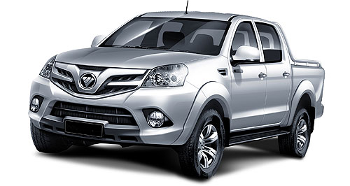Foton 2012 Tunlander uteFoton: Australia is the first western market to get the all-new ute that is known as the Tunlander in China but which will be renamed for this market.