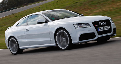 Audi A5 RS5 CoupeKick RS: 25 examples of Audi's bahn-storming RS5 coupe gain high-value extra equipment for no extra cost.