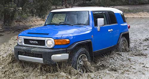 Toyota 2011 FJ Cruiser Son of Prado: First right-hand drive Australian-sped FJ Cruiser hits the bush outside Canberra on the weekend.