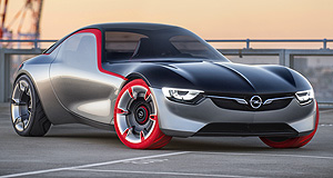 Opel 2017 GT Red alert: Opel's GT concept appears to be GM's toe in the water for a potential Alfa 4C rival, but much could depend on reaction at the Geneva motor show.